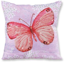 Diamond Dotz Papillon Abricot Pillow Diamond Painting Kit