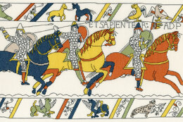 Bothy Threads The Bayeux Tapestry - Cavalry Cross Stitch Kit - 39cm x 26cm
