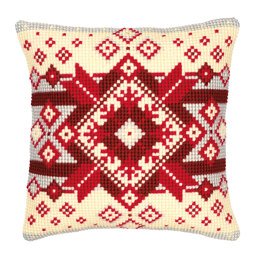 Vervaco Nordic Star Cushion Front Chunky Cross Stitch Kit
