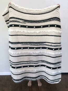 Anthropology Blanket Pattern - Throw and Baby