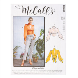 McCall's #AlisterMcCalls - Misses' Tops M8043 - Sewing Pattern