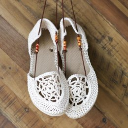 Dream Catcher Sandals with Flip Flop Soles