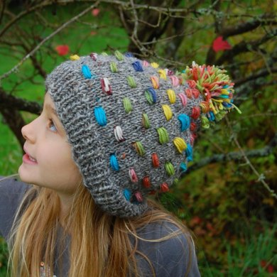 Candy Buttons Hat