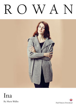 Ina Jacket in Rowan Pure Wool Worsted