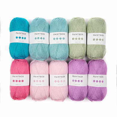 Paintbox Yarns Simply DK 10 Ball Color Pack - Designed by You