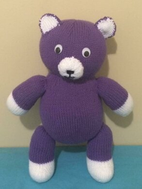 Big Cuddly Teddy Bear Pattern
