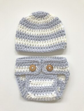Diaper Cover and Beanie Pattern