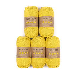 Paintbox Yarns Recycled Cotton Worsted 5er Sparset