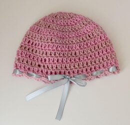 Strawberry Shortcake Baby Hat