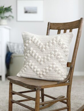 061 The Chevron Bobble Pillow