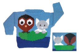 Owl and the Pussycat Sweater to Knit