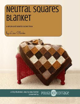 Neutral Squares Blanket