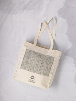 The Yarn Collective Lace Chart Tote 36cm x 40cm