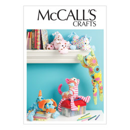 McCall's Stuffed Animals M6485 - Sewing Pattern