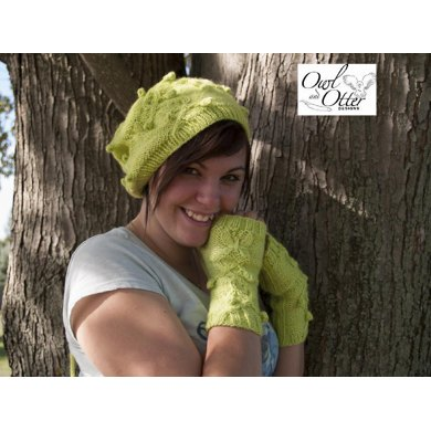 Twisted Vines and Butterflies Hat