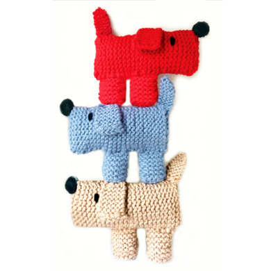 Scruff The Dog Learn To Knitting Kit