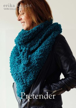 Pretender Shawl in Erika Knight Fur Wool