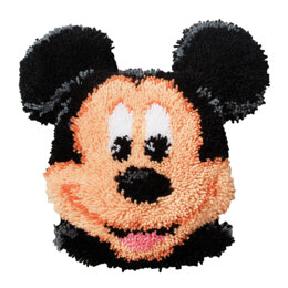 Vervaco Disney Mickey Mouse Latch Hook Rug Kit