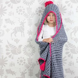 """Granny Gives Back"" Hooded Blanket"