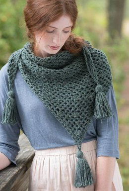 Balsam Scarf in Berroco Remix - Portfolio5-10 - Downloadable PDF