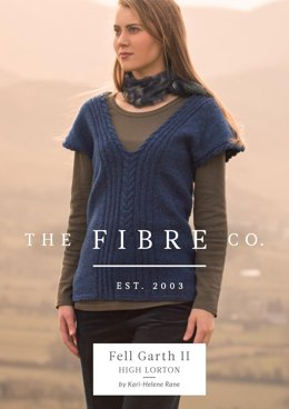 High Lorton Top in The Fibre Co. Arranmore Light - Downloadable PDF