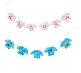 Baby Sweater Garland