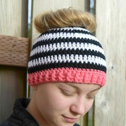 Messy Bun Hat Patterns  167df1fecc09