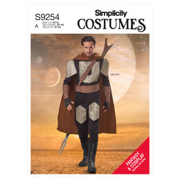 Simplicity Men's Costume S9254 - Sewing Pattern