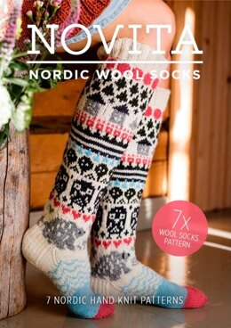 Nordic Woolen Socks Knitting Pattern Book by Novita