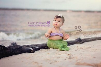 Mermaid Tail Crochet Pattern 193
