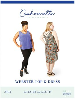 Cashmerette Webster Top & Dress 2103 - Sewing Pattern
