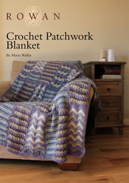 Crochet Patchwork Blanket in Rowan Cocoon