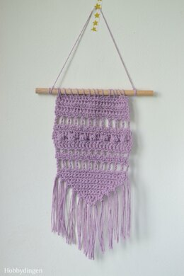Small Purple Wall Hanging