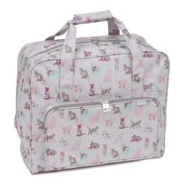 Groves Cats Sewing Machine Bag (Matt PVC)