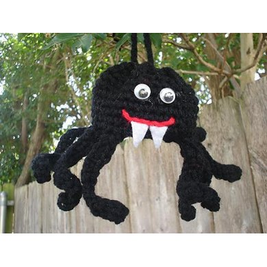 Spider or Octopus Necklace Purse