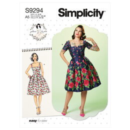 Simplicity Misses' Dress S9294 - Sewing Pattern