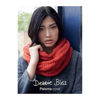 """Cowl"" : Cowl Knitting Pattern for Women in Debbie Bliss Super Bulky 