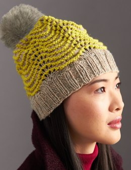 Ripple Hat in Patons Classic Wool Worsted