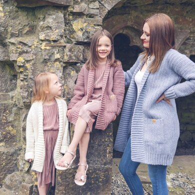 Mother and Daughter Cailin Cardigan