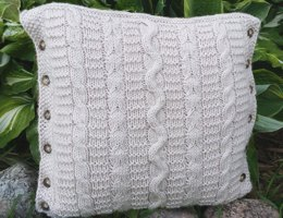 Trinity Cabled Pillow #1