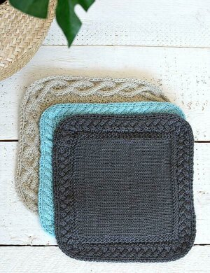 Add a Seamless Cable Border to a Blanket
