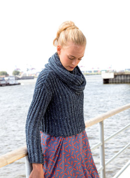 Sweaters and Loop Scarf in Rico Fashion Summer Denim - 314 - Downloadable PDF