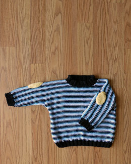 Professor Pullover in Universal Yarn Little Bird - Downloadable PDF