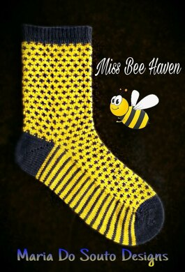 Miss Bee Haven Socks