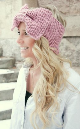 Oversized Bow Headband/Head Wrap