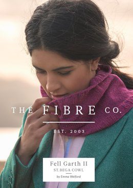 St. Bega Cowl in The Fibre Co. Arranmore Light - Downloadable PDF