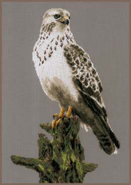 Lanarte Counted Cross Stitch Kit Falcon