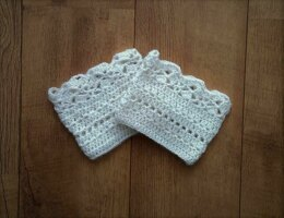 Lacy Boot Cuffs