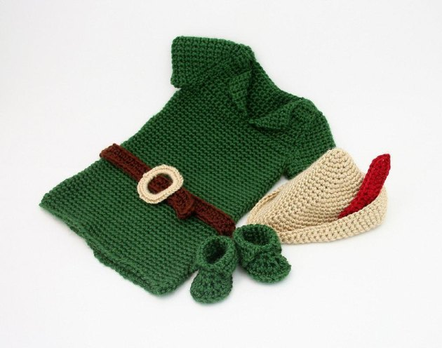 B13 Robin Hood Peter Pan Costume Crochet pattern by ...