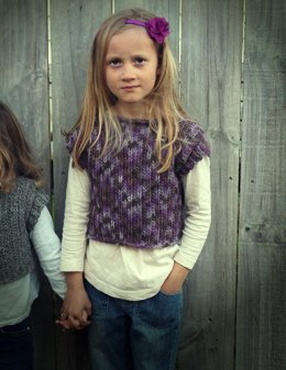 Girl's Cropped Pullover